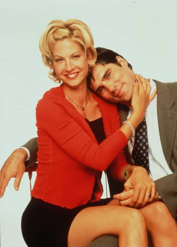 """""""Dharma und Greg"""": Jenna Elfman und Thomas Gibson"""