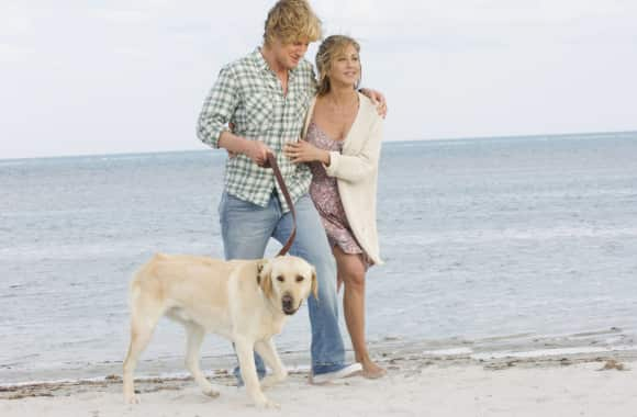"Jennifer Aniston and Owen Wilson in ""Marley and Me"""