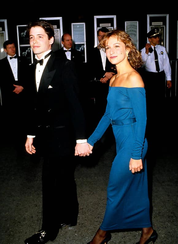 Jennifer Grey Matthew Broderick were a couple