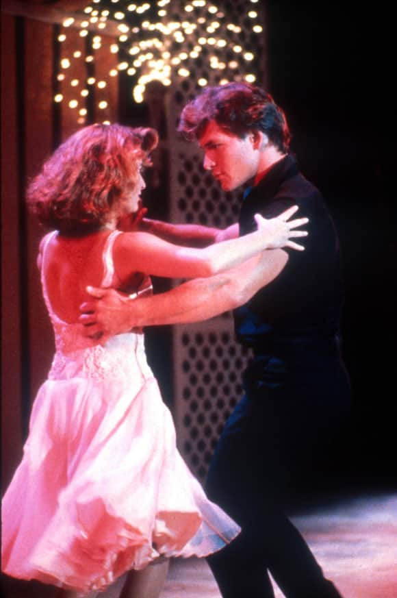 """Dirty Dancing"" Jennifer Grey Patrick Swayze"