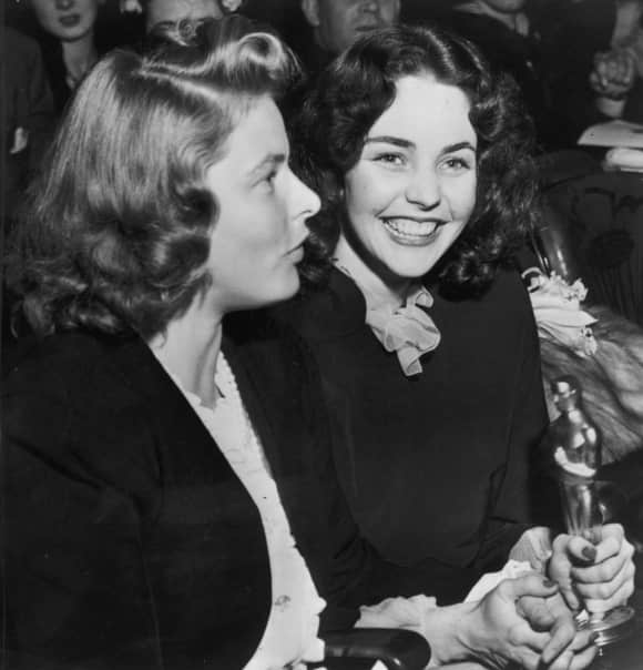 "Jennifer Jones won an Oscar for ""The Song Of Bernadette"""
