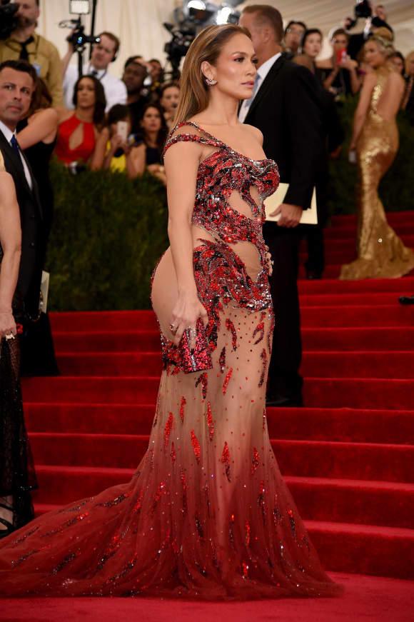Jennifer Lopez auf der Met Gala 2015