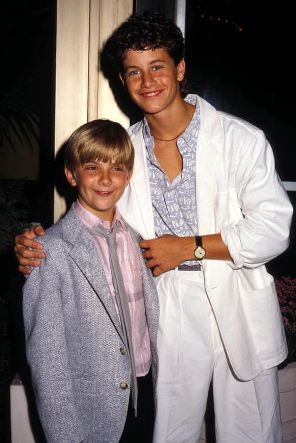 "Jeremy Miller and Kirk Cameron starred in ""Growing Pains"""
