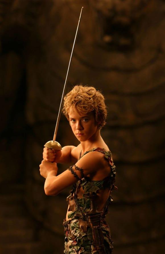 """Jeremy Sumpter alias """"Peter Pan"""""""