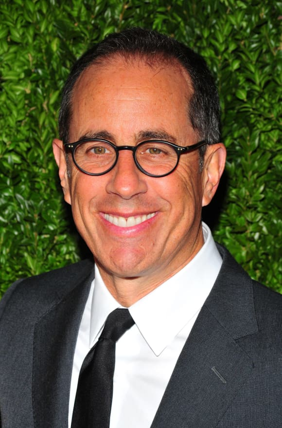 Jerry Seinfeld stars in his own series Seinfeld
