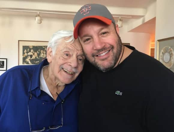 "Jerry Stiller and Kevin James from ""The King of Queens"""