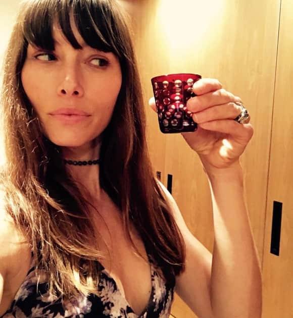 Jessica Biel sieht auch ohne Make-up toll aus