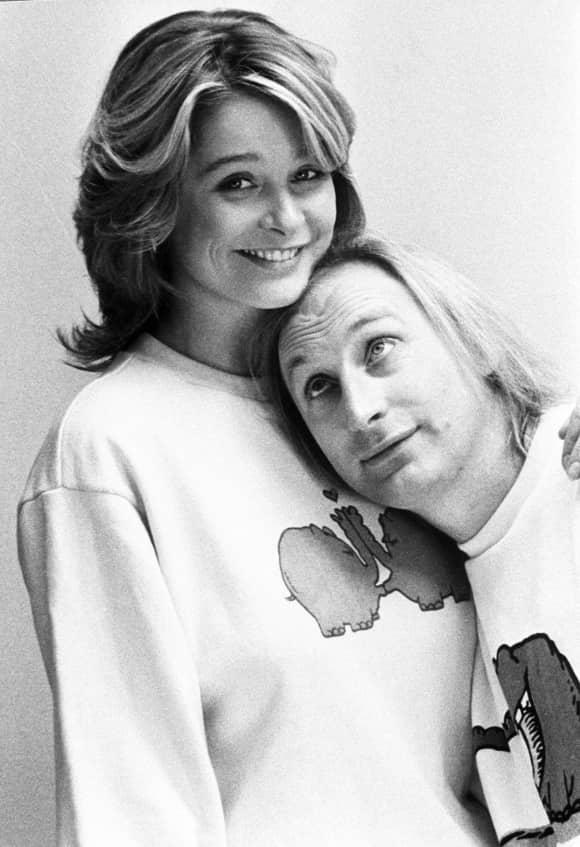 Jessika Cardinahl und Otto Waalkes in einer Filmszene
