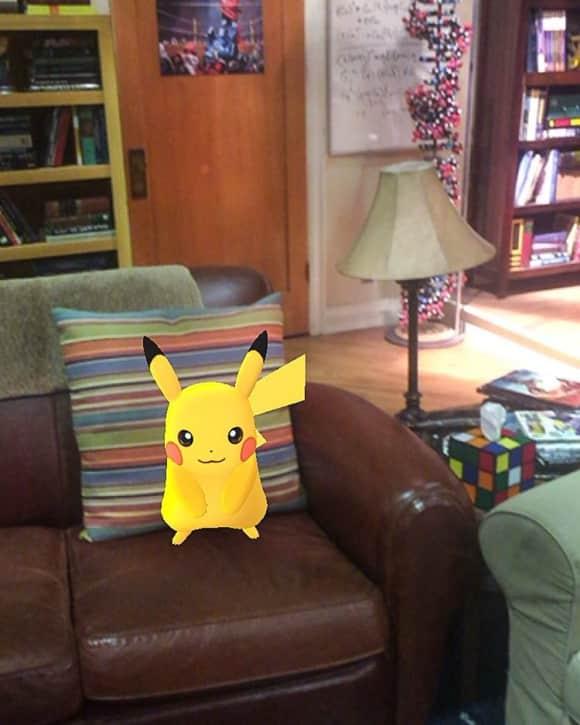 Jim Parsons ist im Pokemon-Go-Fieber