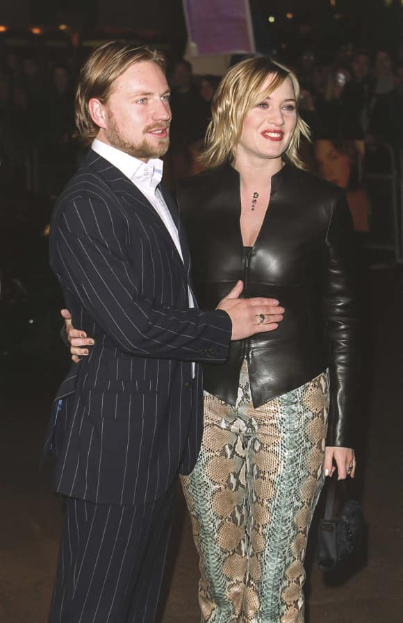 Jim Threapleton und Kate Winslet