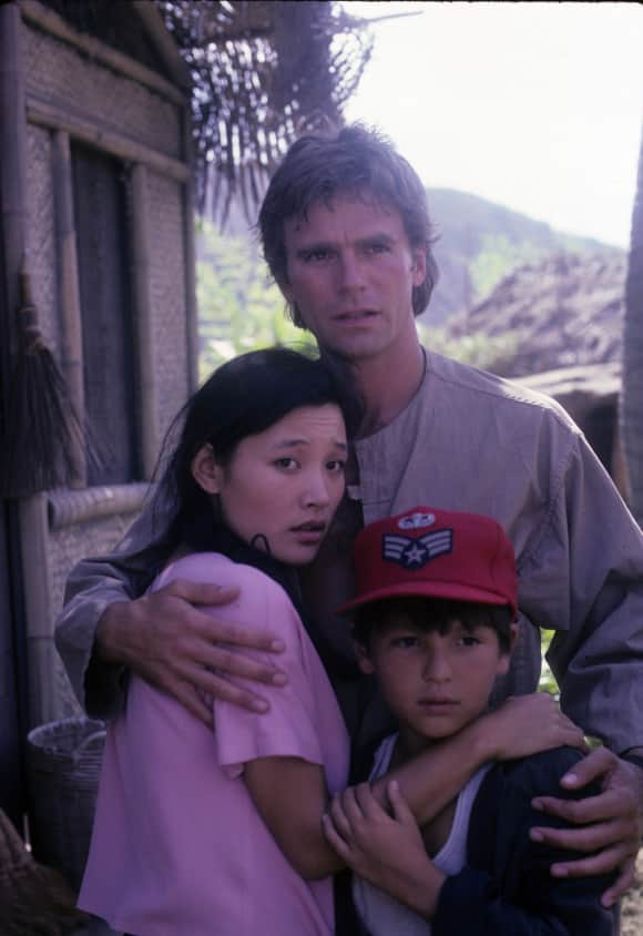 """MacGyver"" stars Richard Dean Anderson, Joan Chen and Bryan Pierce"