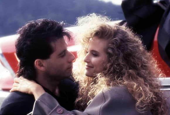 """Am Set von """"The Experts"""" sprühten die Funken zwischen John Travolta und Kelly Preston"""