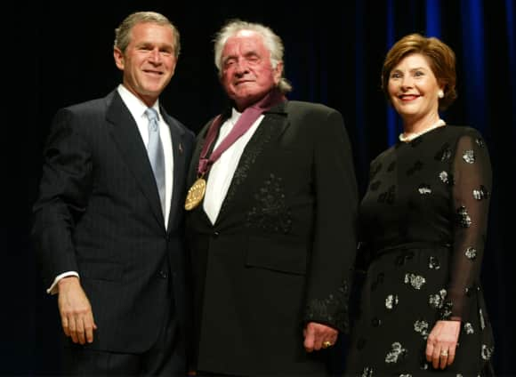 Johnny Cash at The National Medal of Arts Awards Ceremony