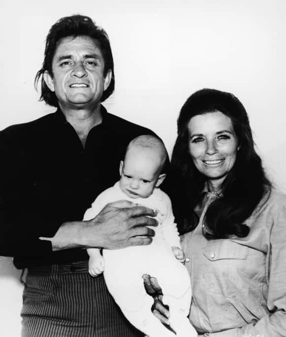 Johnny, June and John Carter Cash