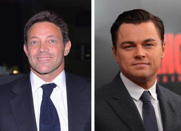 "Jordan Belfort, Leonardo DiCaprio, ""The Wolf of Wallstreet"""