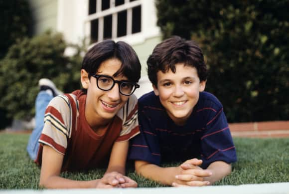 "Fred Savage and Josh Saviano in ""The Wonder Years"""