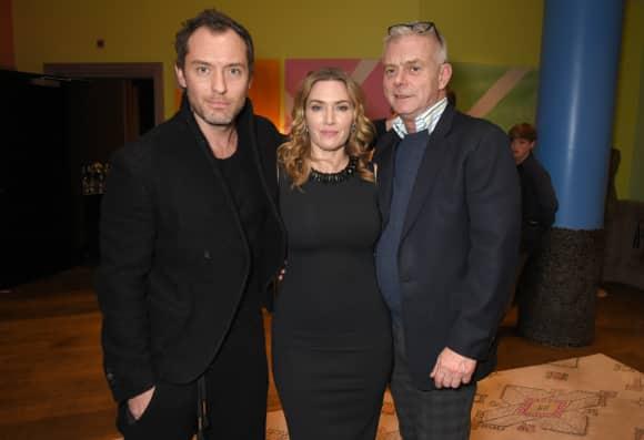 Jude Law, Kate Winslet und Stephen Daldry