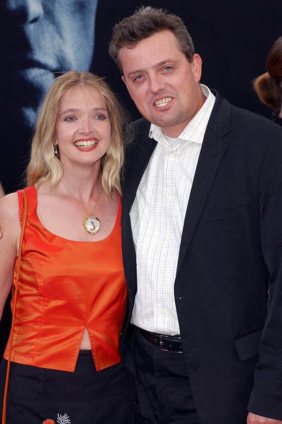 Julia Biedermann mit ihrem Ehemann Matthias