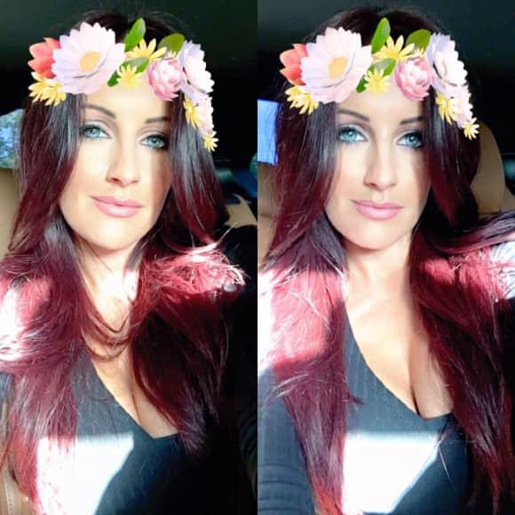 Julia Jasmin Rühle mit roten Haaren