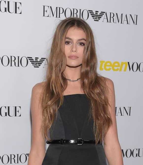 Kaia Gerber, die Tochter von Cindy Crawford, ist schon jetzt ein sehr gefragtes Model