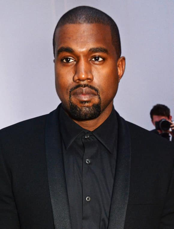 Music star Kanye West