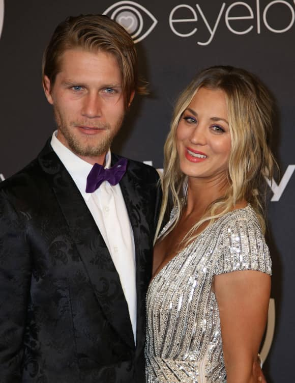 Karl Cook and Kaley Cuoco got enganged in 2017