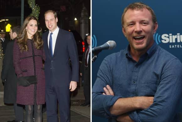 Kate Middleton, Prinz William und Guy Ritchie