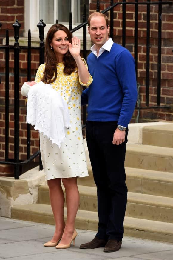 Erste Bilder: Das ist Kate Middletons und Prinz Williams erste Tochter
