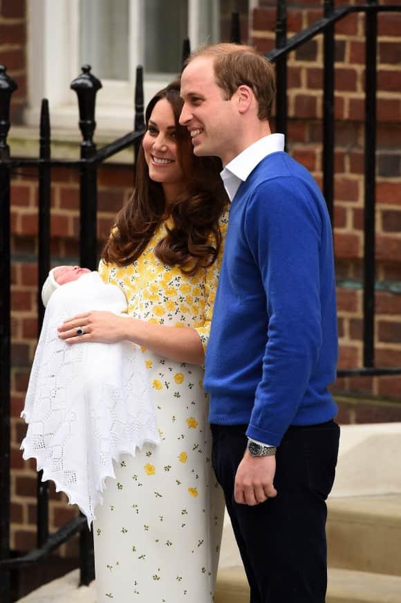 Am 2. Mai erblickte die erste Tochter von Kate Middleton und Prinz William das Licht der Erde