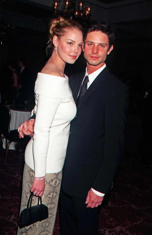 Katherine Heigl and Jason Behr were in a relationship for two years