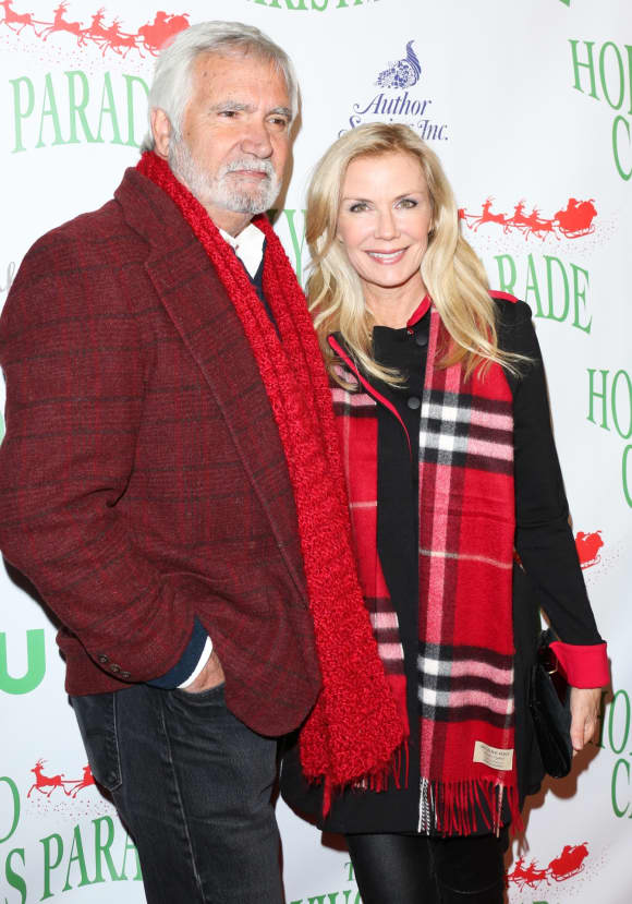 Katherine Kelly Lang and John McCook
