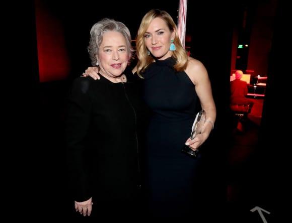 Kathy Bates Kate Winslet Titanic Reunion