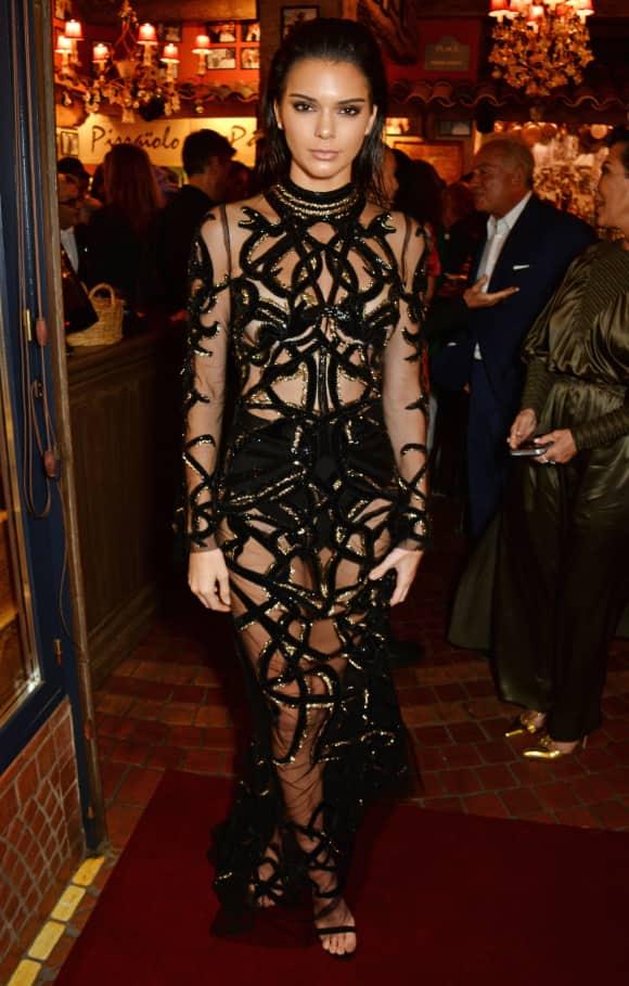 Kendell Jenner bezaubert in Cannes