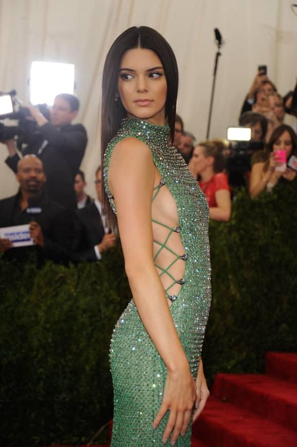 Kendall Jenner auf dem roten Teppich