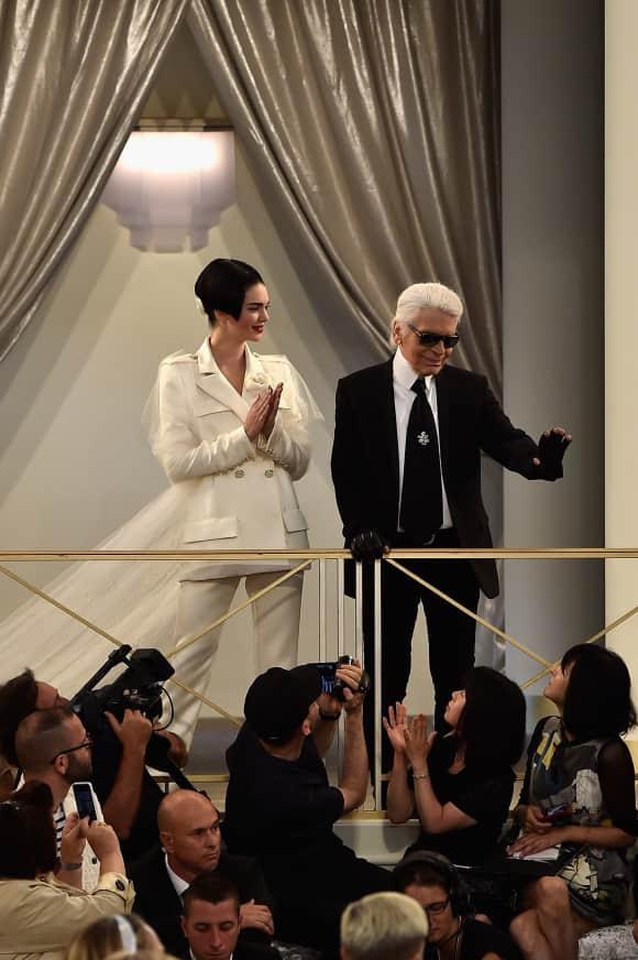 Kendall Jenner durfte für Karl Lagerfelds Chanel-Show laufen