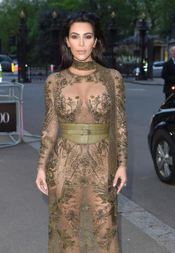 Unterwäsche ist bei der Reality-Queen Kim Kardashian fehl am Platz