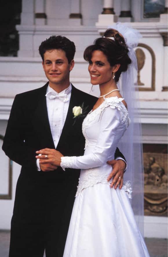 Kirk Cameron and Chelsea Nobel married 1991