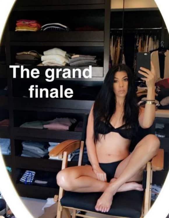 Kourtney Kardashian zeigt sich super freizügig