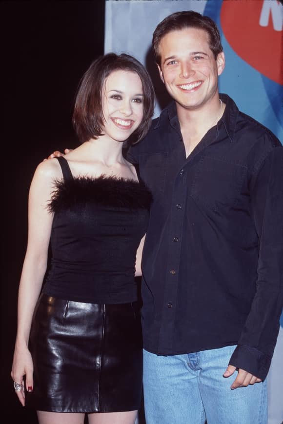 Lacey Chabert and Scott Wolf in 1998