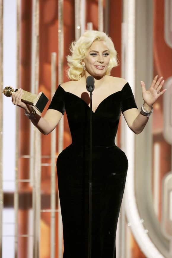 Lady Gaga gewinnt einen Golden Globe
