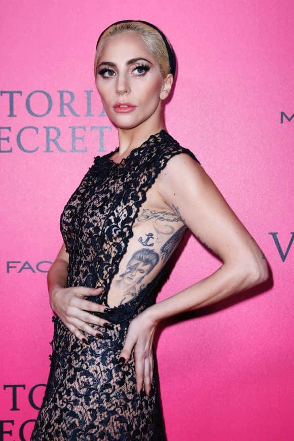 Lady Gaga bei der Victoria's-Secret-Fashion-Show 2016