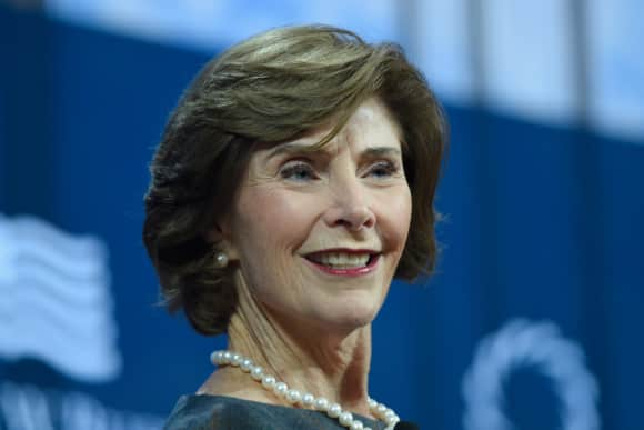 Laura Bush George Bush Frau