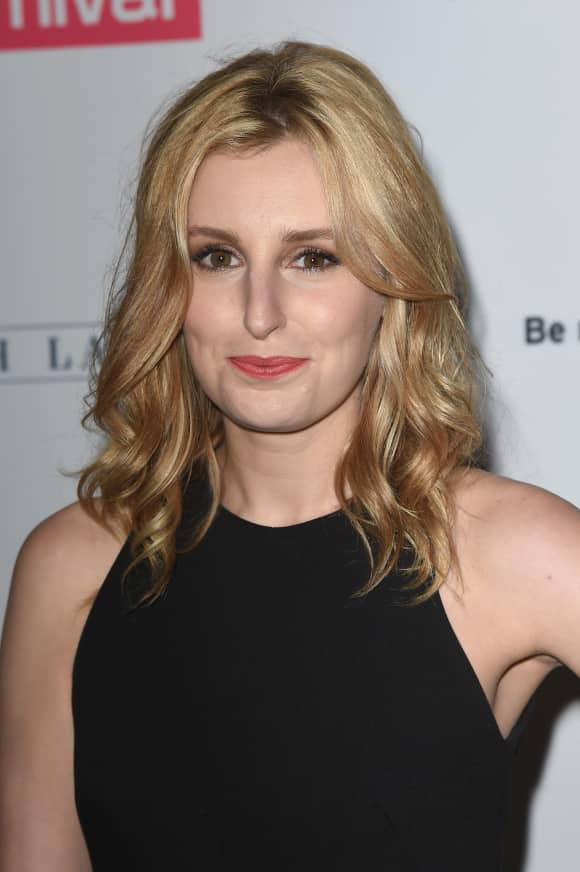 "Laura Carmichael played ""Lady Edith"" in ""Downton Abbey"""