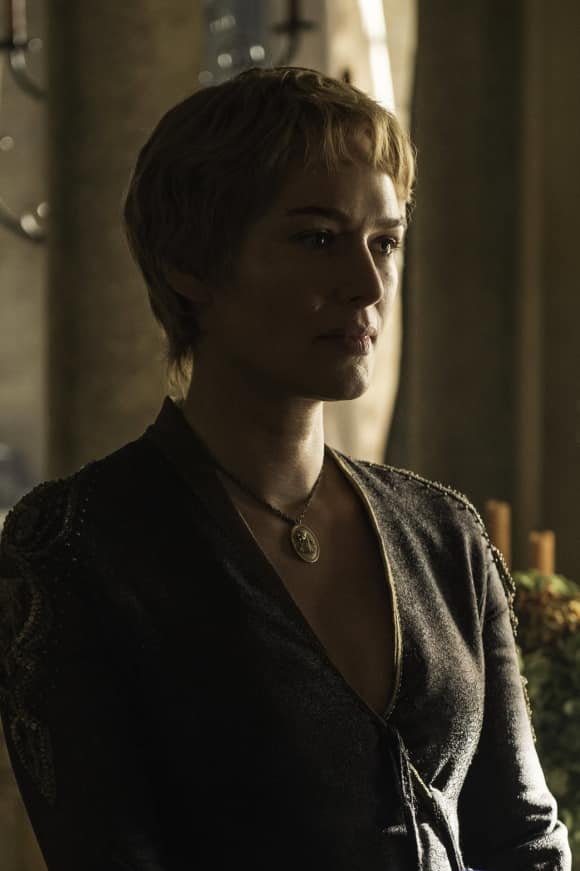 "Lena Headey as ""Cersei"" on ""Game of Thrones"""