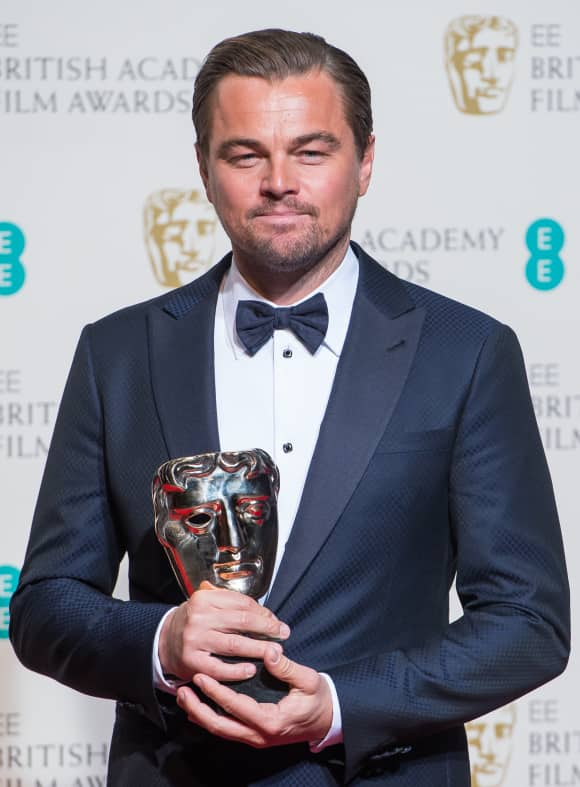 Leonardo DiCaprio won a BAFTA-Award for Best Actor back in 2016