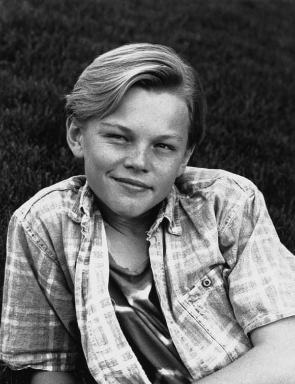 Leonardo DiCaprio als Kind