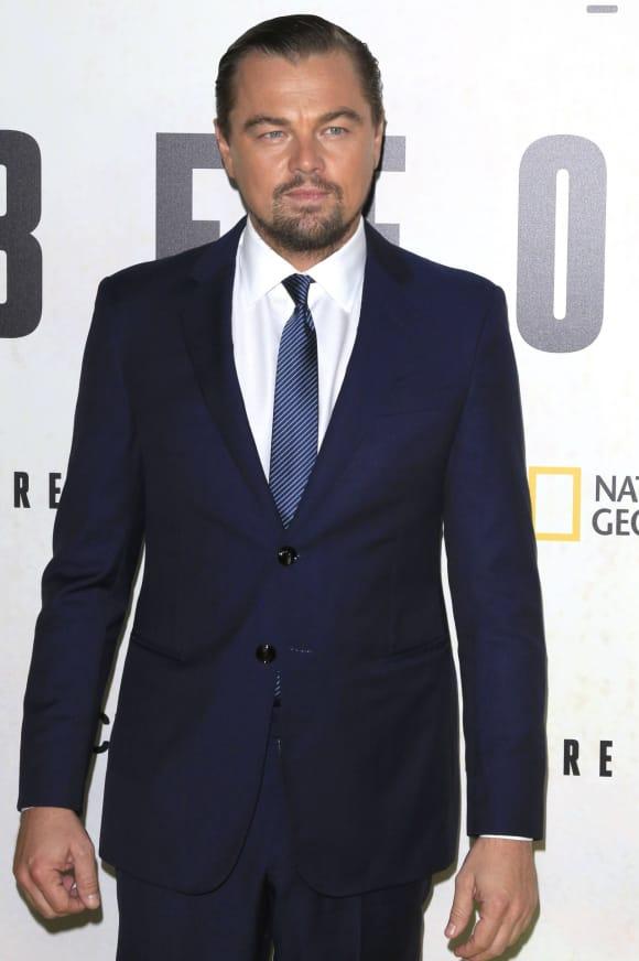 """""""Titanic""""-Star und Oscar-Preisträger Leonardo DiCaprio bei einem Screening"""