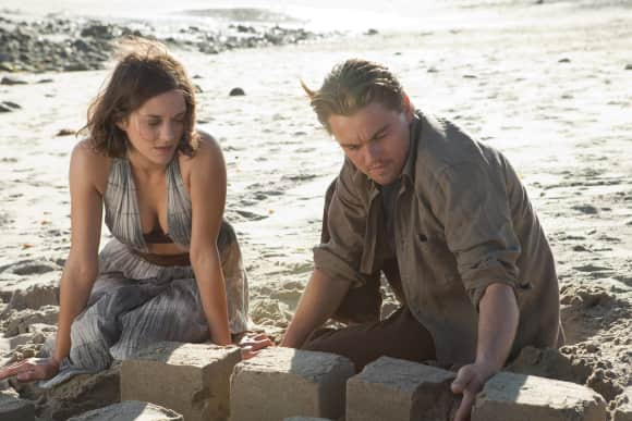"Leonardo DiCaprio and Marion Cotillard in ""Inception"""