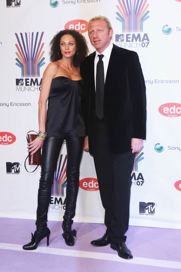 Lilly and Boris Becker at the MTV Music Awards back in 2007