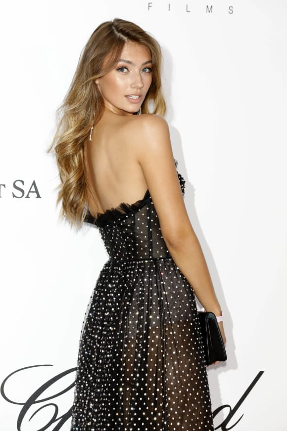 Lorena Rae an 25 der amfAR Cinema Against Aids Gala
